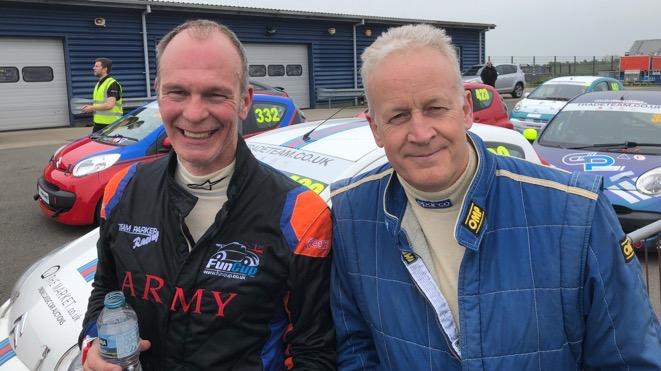 Mark Cox and Matthew Lowe