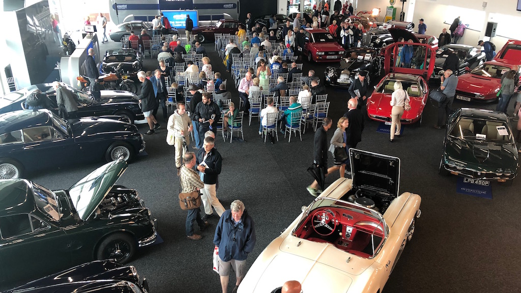 Silverstone Classic Auction Room